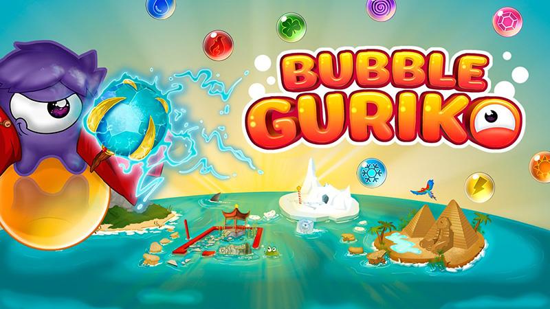 دانلود بازی Bubble Guriko را بروی موبایل ویندوزی خود از دست ندهید.