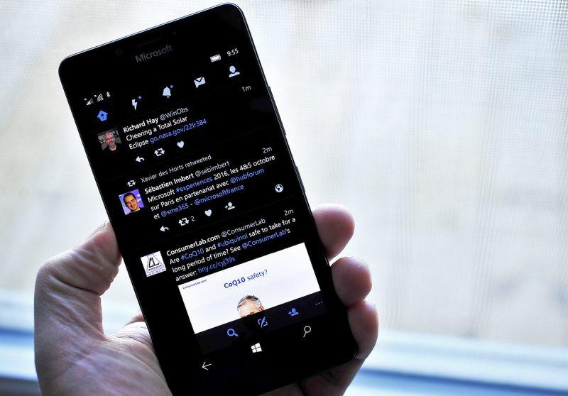 نسخه جدید توییتر در ویندوز ۱۰ موبایل و پی سی با قابلیت GIF و …