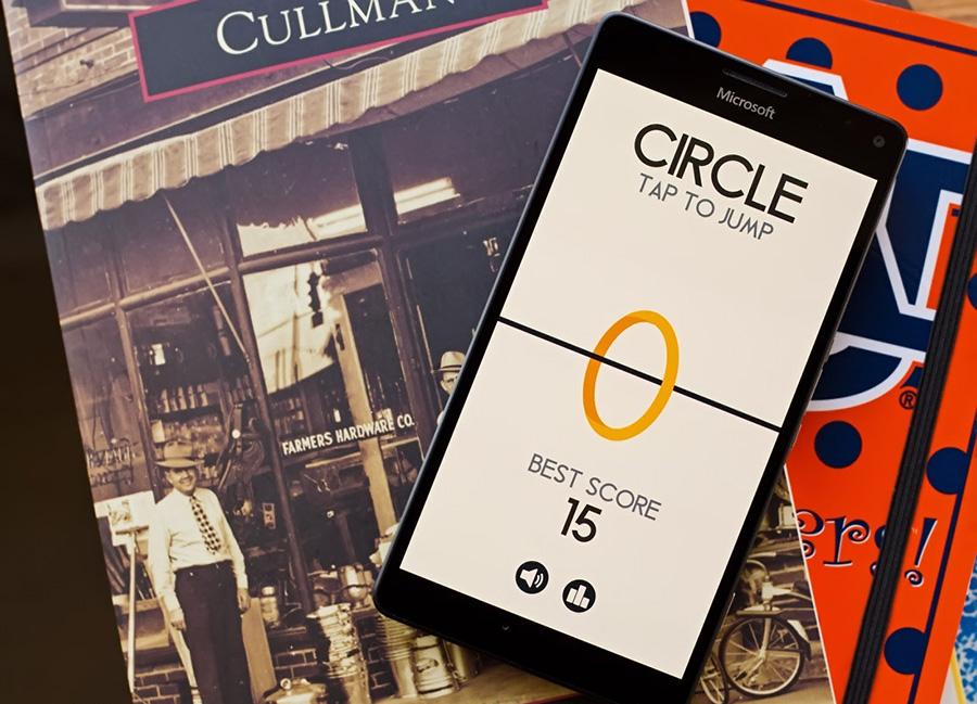 بازی جذاب Circle برای ویندوز ۱۰ موبایل را از دست ندهید!