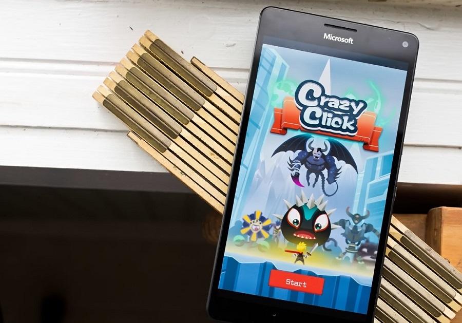 بازی جذاب Crazy Click برای ویندوز ۱۰ موبایل را از دست ندهید!