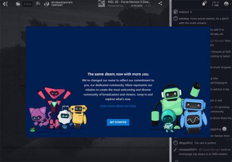سرویس پخش زنده بازی و ویدیو های پاسخگوی Mixer توسط مایکروسافت