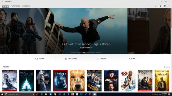 استفاده از قابلیت بی نظیر ویدیو ۳۶۰ درجه اپلیکیشن Movie & TV بروی ویندوز ۱۰