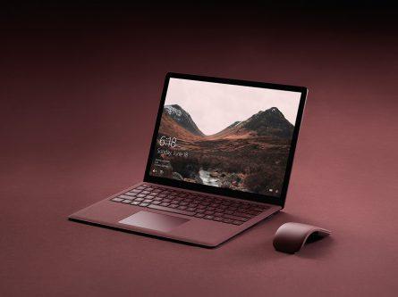 Surface Laptop اولین لپ تاپ زیبا و قدرتمند جهان با Windows 10 S