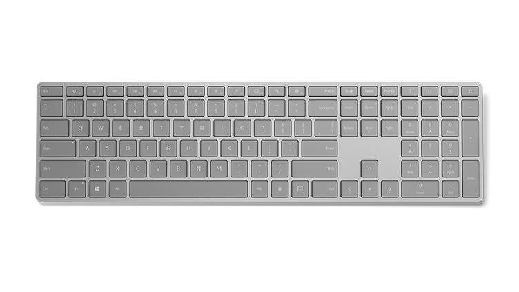 رونمایی مایکروسافت از کیبورد مدرن و جدید با Fingerprint ID – windows Hello