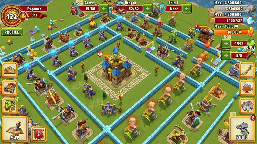 دانلود بازی جذاب و جدید Dragon Lords 3D برای موبایل، تبلت و پی سی ویندوز ۱۰