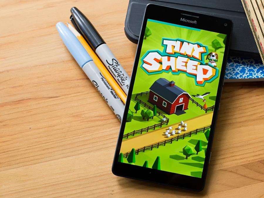 بازی یونیورسال Tiny Sheep برای موبایل، تبلت و کامپیوتر ویندوز ۱۰ به صورت رایگان