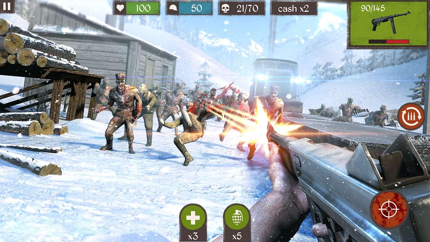بازی فوق العاده Dead Zombie Call را به صورت رایگان برای ویندوز ۱۰ دانلود کنید.