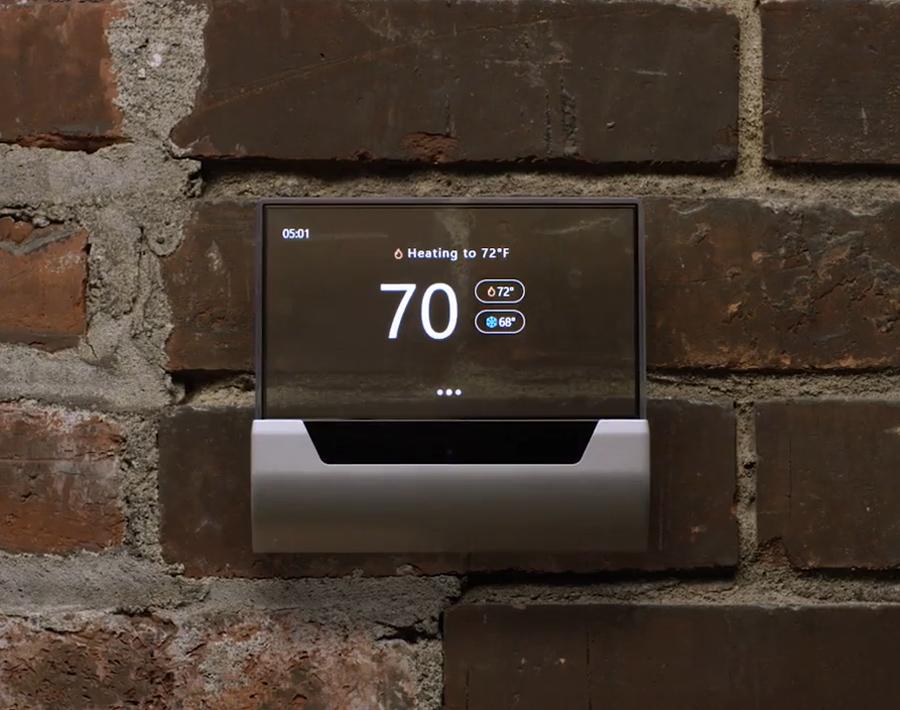 خانه هوشمند با ترموستات هوشمند GLAS، قدرت گرفته از کرتانا و ویندوز ۱۰ IoT