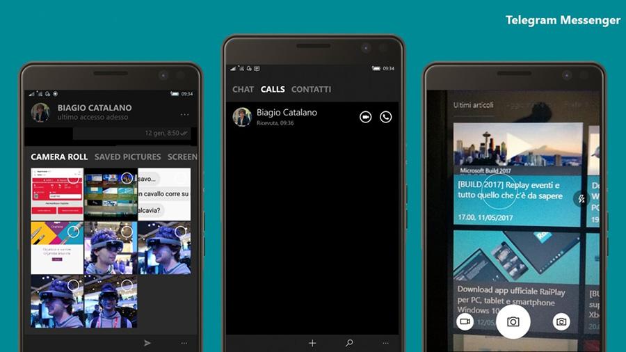 دانلود تلگرام برای ویندوزفون با قابلیت تماس تلفنی با نسخه ۲٫۳٫۹٫۰ از استور ویندوز ۱۰