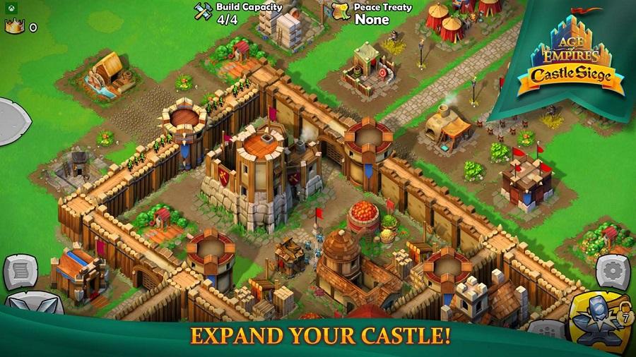 بازی فوق العاده Age of Empire – Castle Siege را به صورت رایگان دانلود کنید.