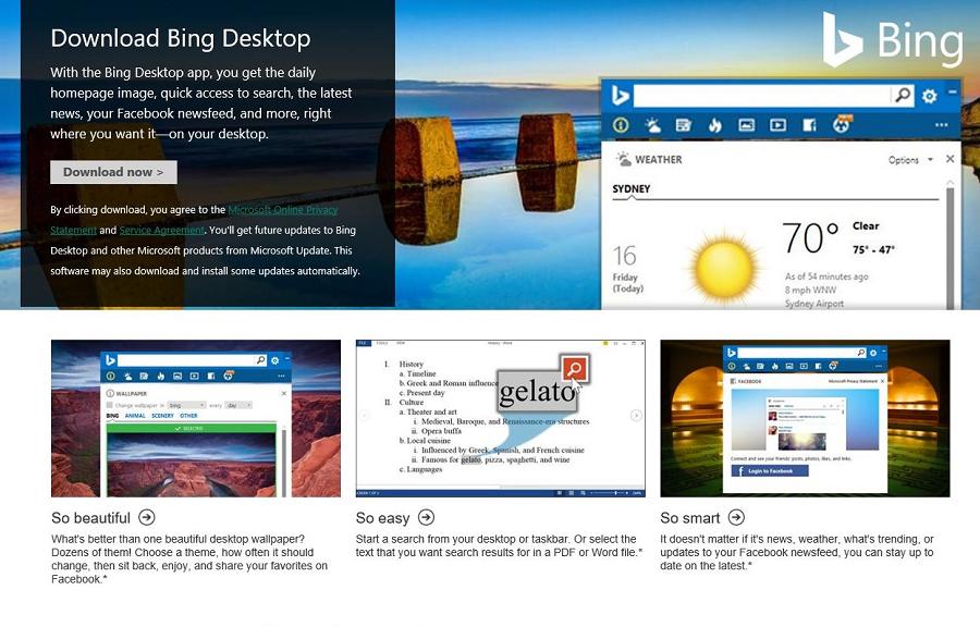 چطور از تصاویر زیبای بینگ (Bing) به عنوان Wallpaper کامپیوتر خود استفاده کنیم؟