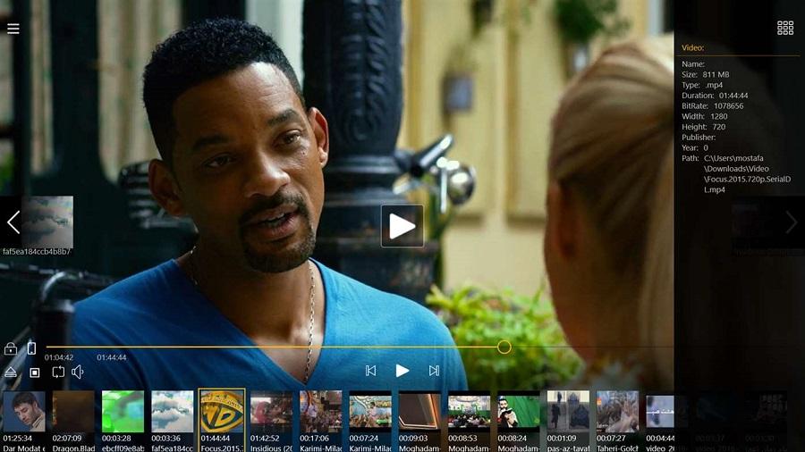 نسخه جدید اپلیکیشن Parma Video Player را برای تمامی دستگاه های ویندوز ۱۰
