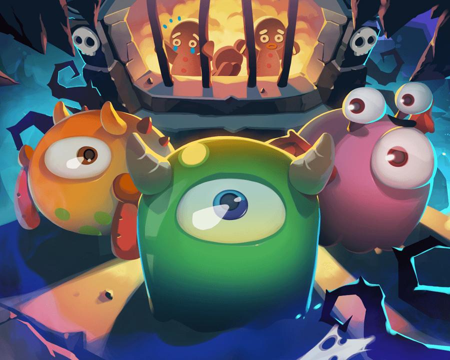 بازی جذاب Monster Busters: Ice Slide برای ویندوز ۱۰ موبایل به صورت رایگان