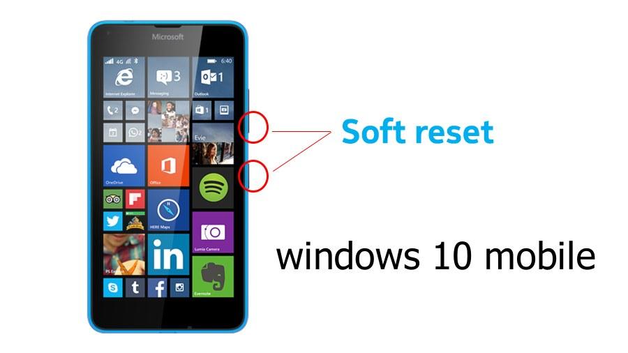 آموزش سافت ریست (soft reset) و هارد ریست (hard reset) برای ویندوز ۱۰ موبایل