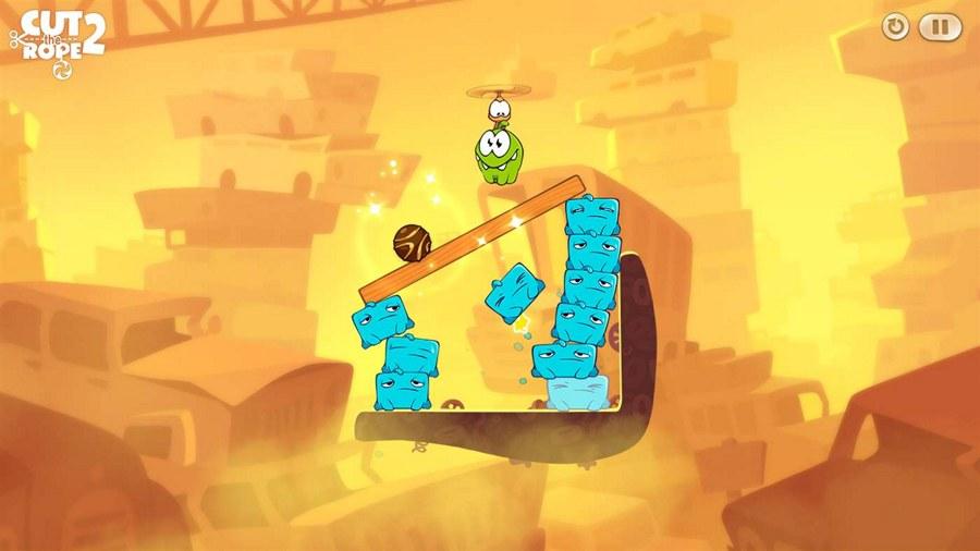 دانلود بازی یونیورسال و معروف Cut the Rope 2 برای ویندوز ۱۰ موبایل و تبلت و PC