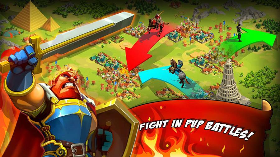 دانلود بازی جدید و فوق العاده Game of Emperors را برای موبایل، تبلت و کامپیوتر ویندوز ۱۰