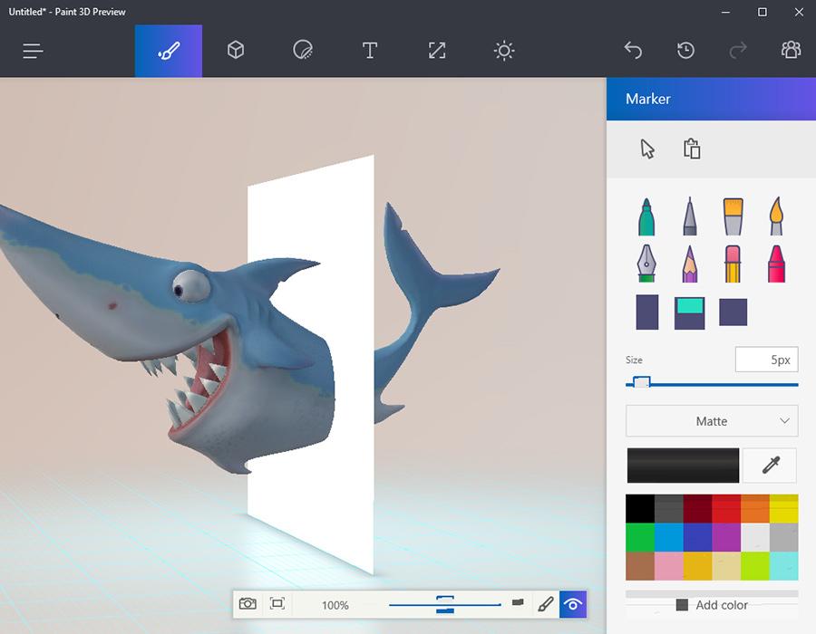 قابلیت های فوق العاده ی Paint 3D در ویندوز ۱۰ را از دست ندهید! (ویدیو)