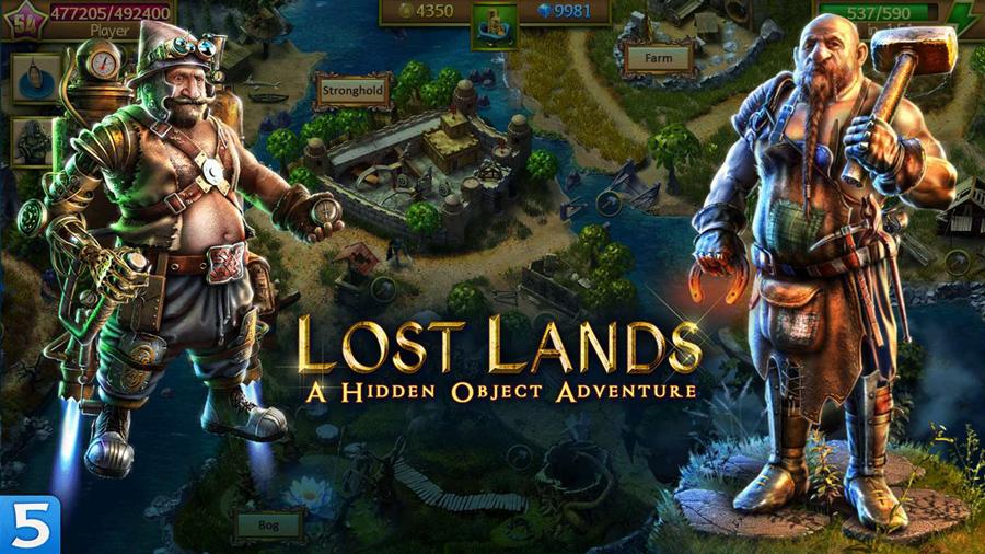 بازی فوق العاده Lost Lands: A Hidden Object Adventure را برای ویندوز ۱۰ خود دانلود کنید.