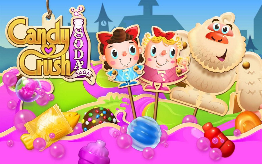 دانلود بازی کندی کراش سودا ساگا (Candy Crush Soda Saga) برای ویندوز ۱۰