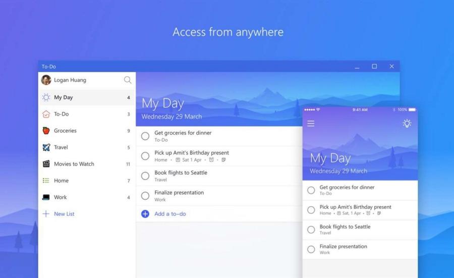 دانلود بهترین برنامه مدیریت کارهای روزانه Microsoft To-Do از استور