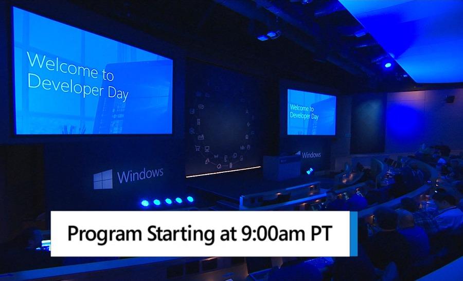 کنفرانس Windows Developer Day تا ۱۰ دقیقه دیگر به صورت مستقیم