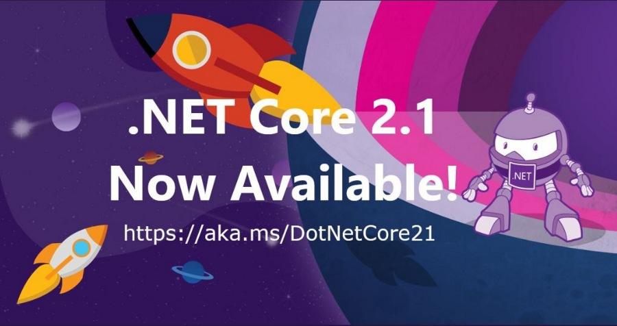 نسخه جدید و بی نظیر Net Core 2.1. برای تمامی پلتفرم ها منتشر شد.