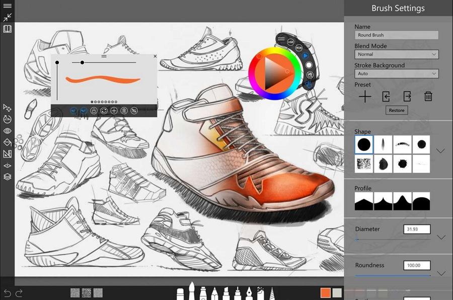 دانلود برنامه ی حرفه ای برای طراحی و نقاشی Sketchable در ویندوز ۱۰ تبلت