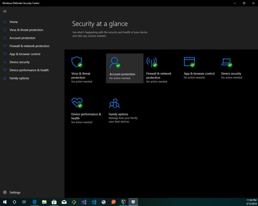 آنتی ویروس و فایروال قدرتمند Windows Defender Security Center در ویندوز ۱۰