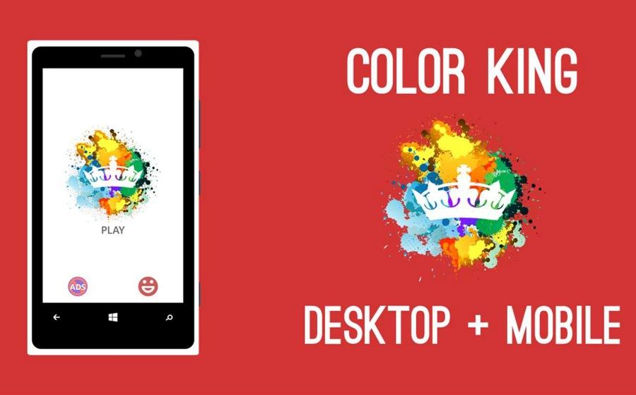 دانلود بازی Color King به صورت Universal (یکپارچه) برای ویندوز ۱۰ موبایل و PC