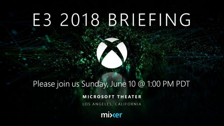 پخش زنده کنفرانس E3 سال ۲۰۱۸ در وب سایت و اپلیکیشن Mixer مایکروسافت