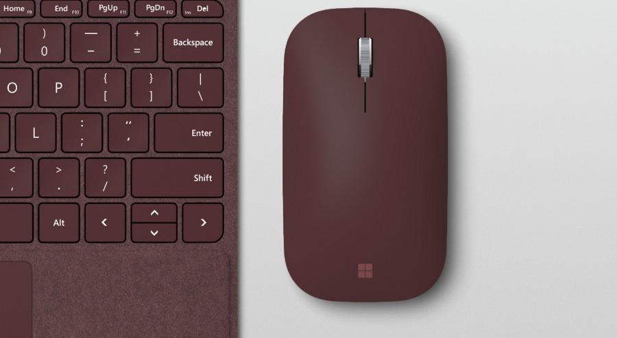 رونمایی مایکروسافت از Surface Mobile Mouse جدید برای Surface Go