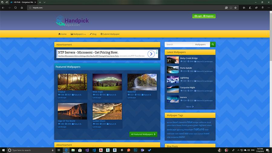 رونمایی از سایت تصاویر با کیفیت Full-HD و ۴K در سرویس جدید HDPick.com