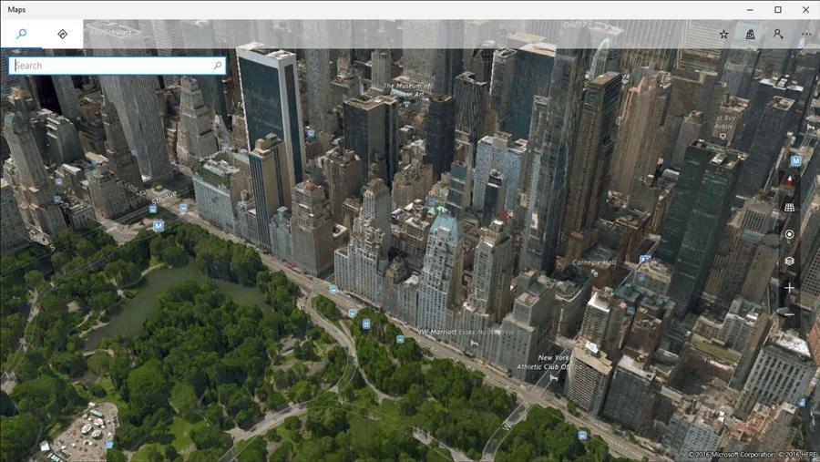 Windows Maps با دو قابلیت جدید برای ویندوز ۱۰ به صورت UWP آپدیت شد.