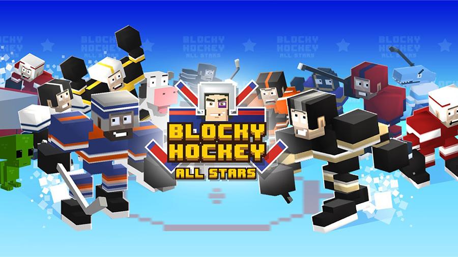 دانلود بازی جذاب و یونیورسال Blocky Hockey برای ویندوز ۱۰ موبایل، تبلت و کامپیوتر