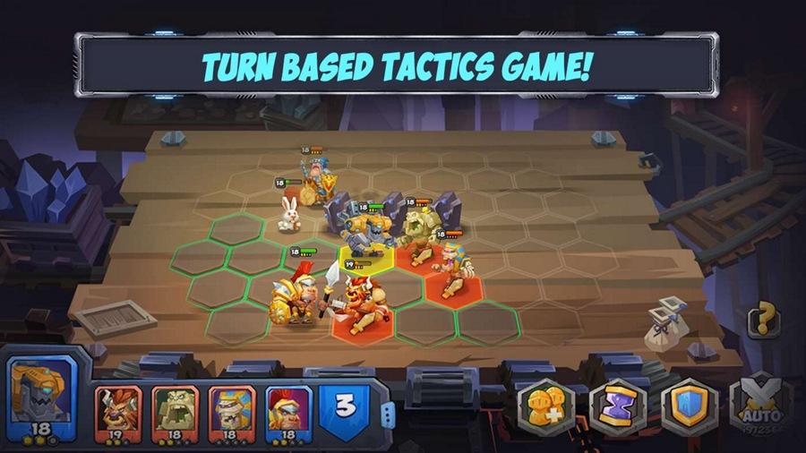 Tactical Monsters Rumble Arena بازی جذاب ویندوز ۱۰ موبایل، تبلت و کامپیوتر