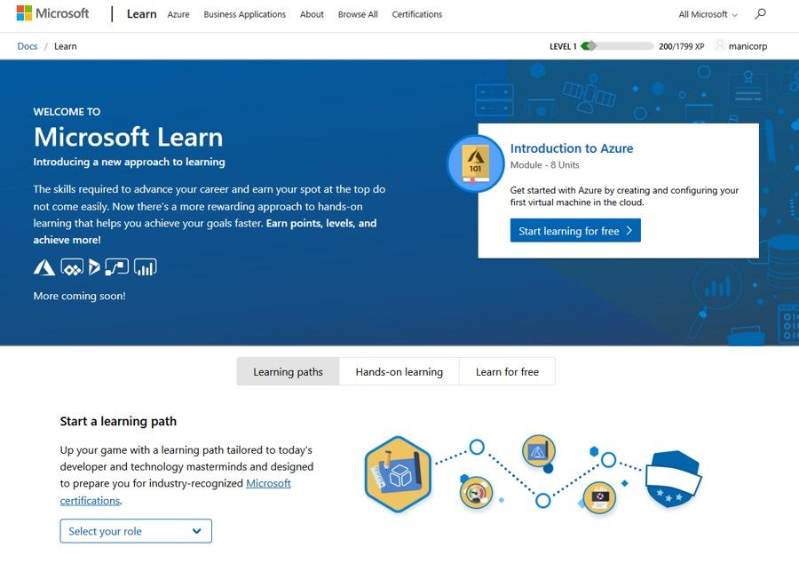 رونمایی از سرویس قدرتمند آموزش مایکروسافت معروف به Microsoft Learn