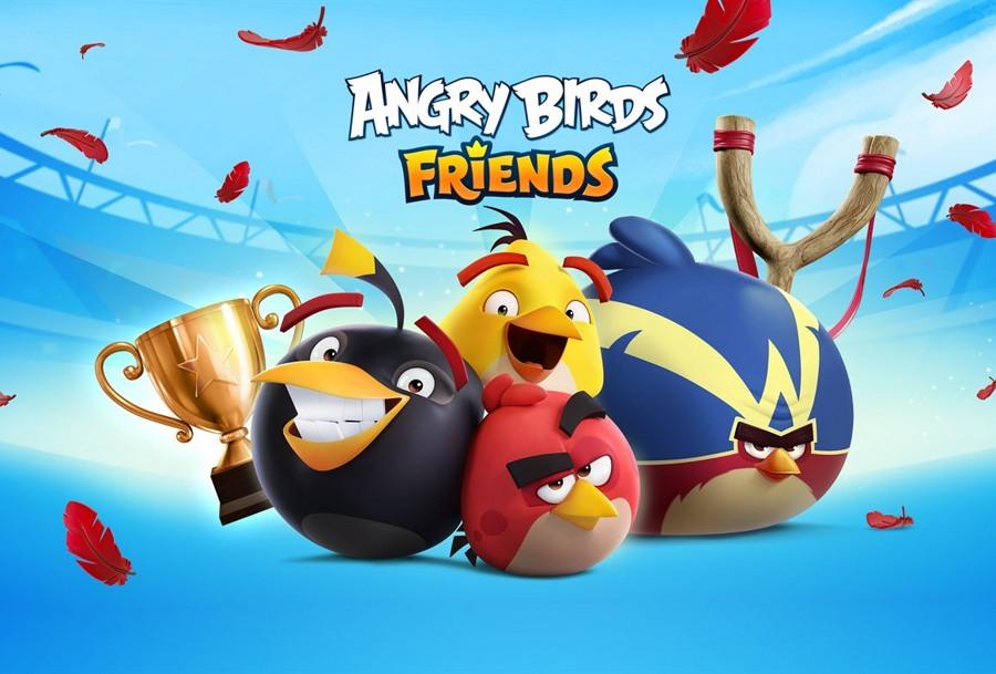 بازی محبوب Angry Birds Friends برای ویندوز ۱۰ تبلت و کامپیوتر منتشر شد.
