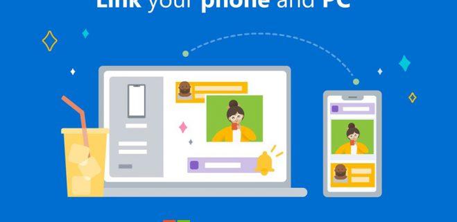 امکان برقراری تماس تلفنی و ارسال SMS در ویندوز ۱۰ کامپیوتر با اپلیکیشن Your Phone