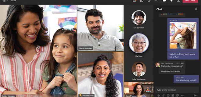 اپلیکیشن بی نظیر چت و تماس ویدیو Microsoft Teams personal برای همه پلتفرم ها به صورت رایگان منتشر شد.